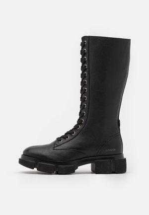 CPH515 - Lace-up boots - black