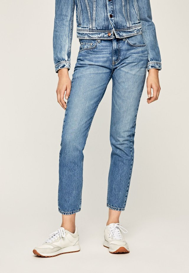 MABLE - Jeansy Slim Fit - denim