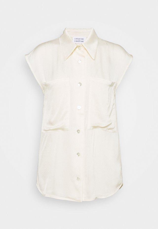 ALLURE - Košile - vanilla