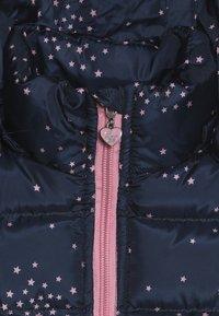 Lemon Beret - SMALL GIRLS JACKET - Winter jacket - dark blue/light pink - 5
