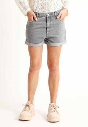MOM - Denim shorts - grey