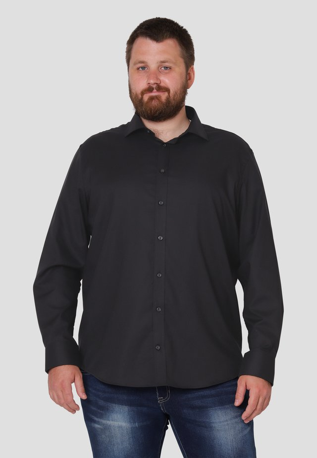 LUCAS - Skjorter - black solid
