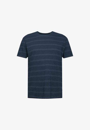 REGULAR FIT - Print T-shirt - dark blue, blue