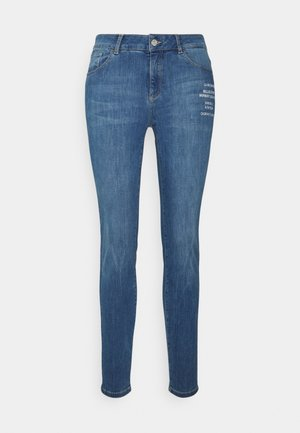 HOSE LANG - Slim fit jeans - light blue