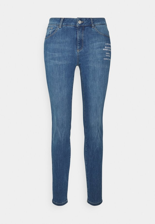 HOSE LANG - Jeans slim fit - light blue