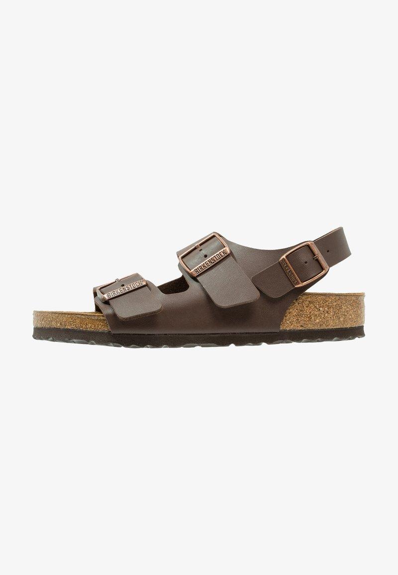 Birkenstock - MILANO - Sandals - dark brown