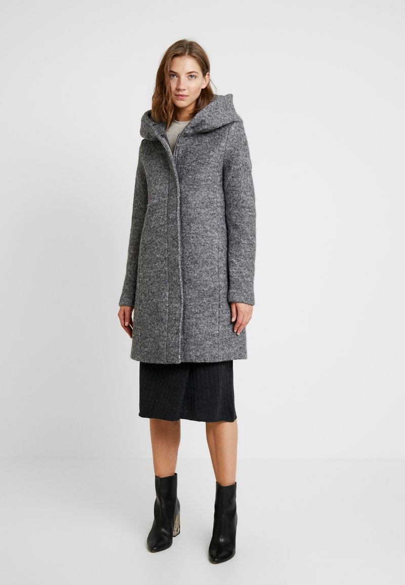 Vila - Kåpe / frakk - medium grey melange