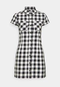 Afends - PIPER - Shirt dress - black / white - 0