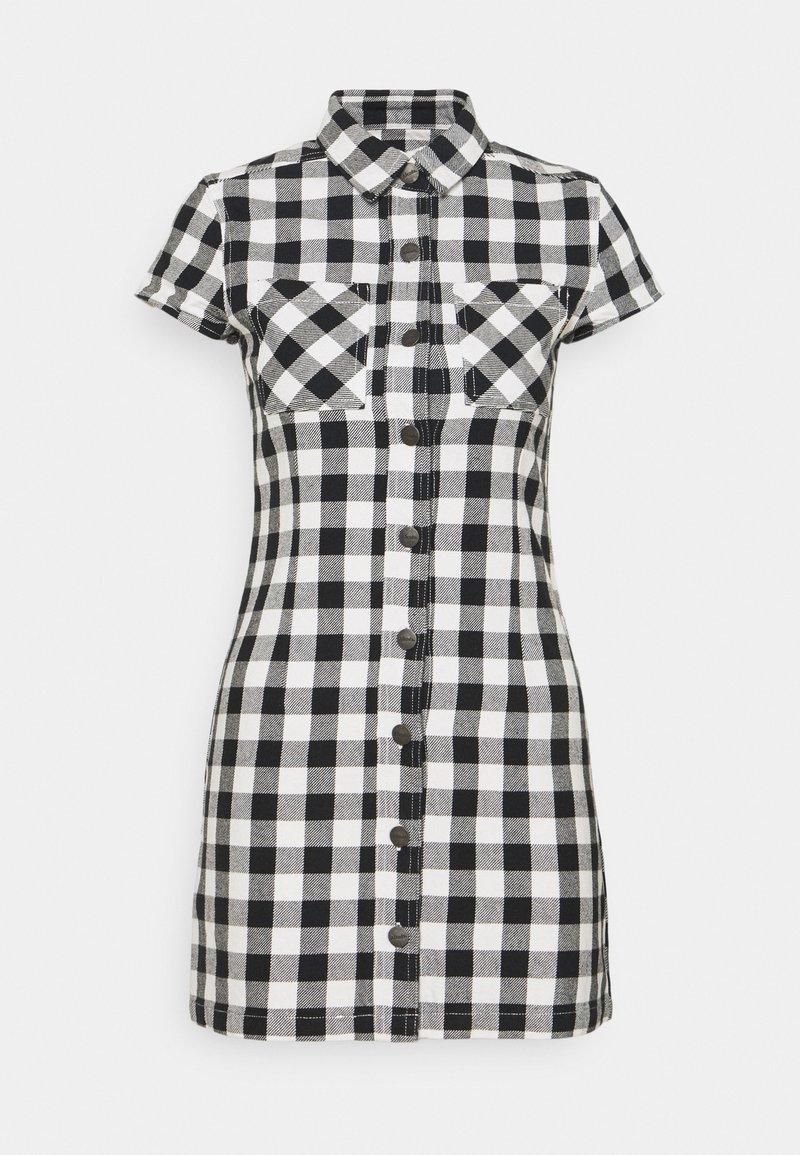Afends - PIPER - Shirt dress - black / white
