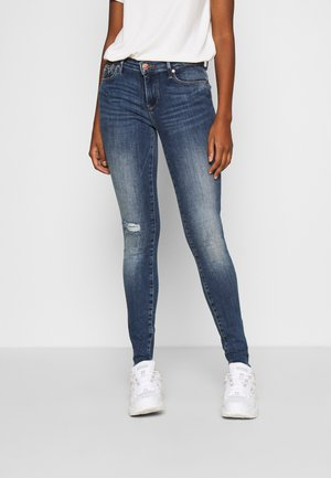 ONLISA LIFE - Jeans Skinny Fit - medium blue denim