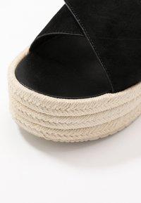 Calvin Klein Jeans - FERNANDA - Heeled mules - black - 2