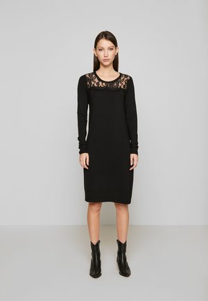 VMLACOLE LACE DRESS - Jumper dress - black
