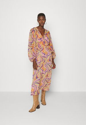 SWIRL MIDI DRESS - Maxi dress - multi-coloured