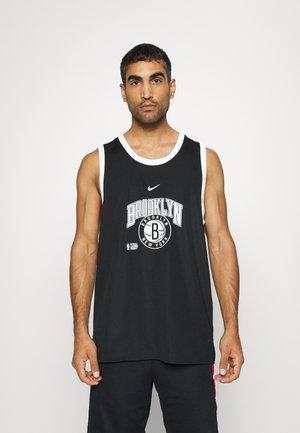 BROOKLYN NETS DNA TANK - NBA-jersey - black/white