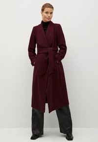 Mango - IN WICKEL-OPTIK - Winter coat - bordeaux - 1