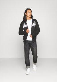 Superdry - ZIPHOOD - Zip-up hoodie - black - 1