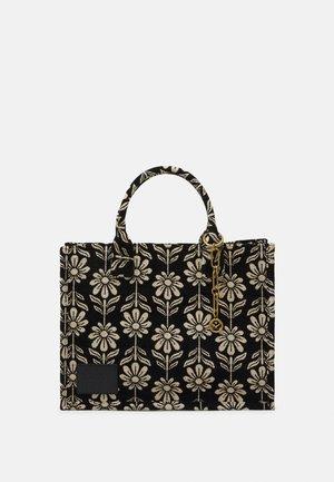 FLOWER - Shopping bag - ecru/noir