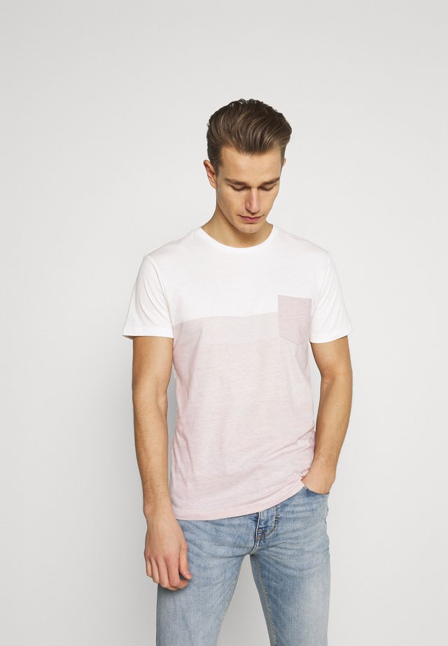 PORUS - Print T-shirt - coral cloud