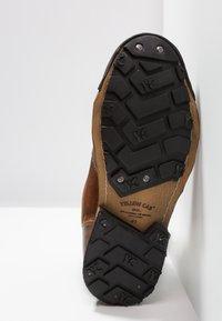 Yellow Cab - INDUSTRIAL - Šněrovací kotníkové boty - tan - 4