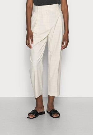 PHOEBE ROSE - Trousers - dark pearl