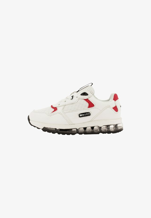 HBD  - Sneakers laag - white/red