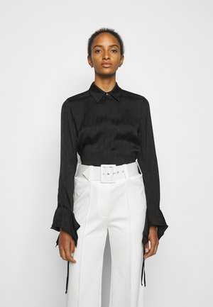 LOGO BLOUSE - Blůza - black