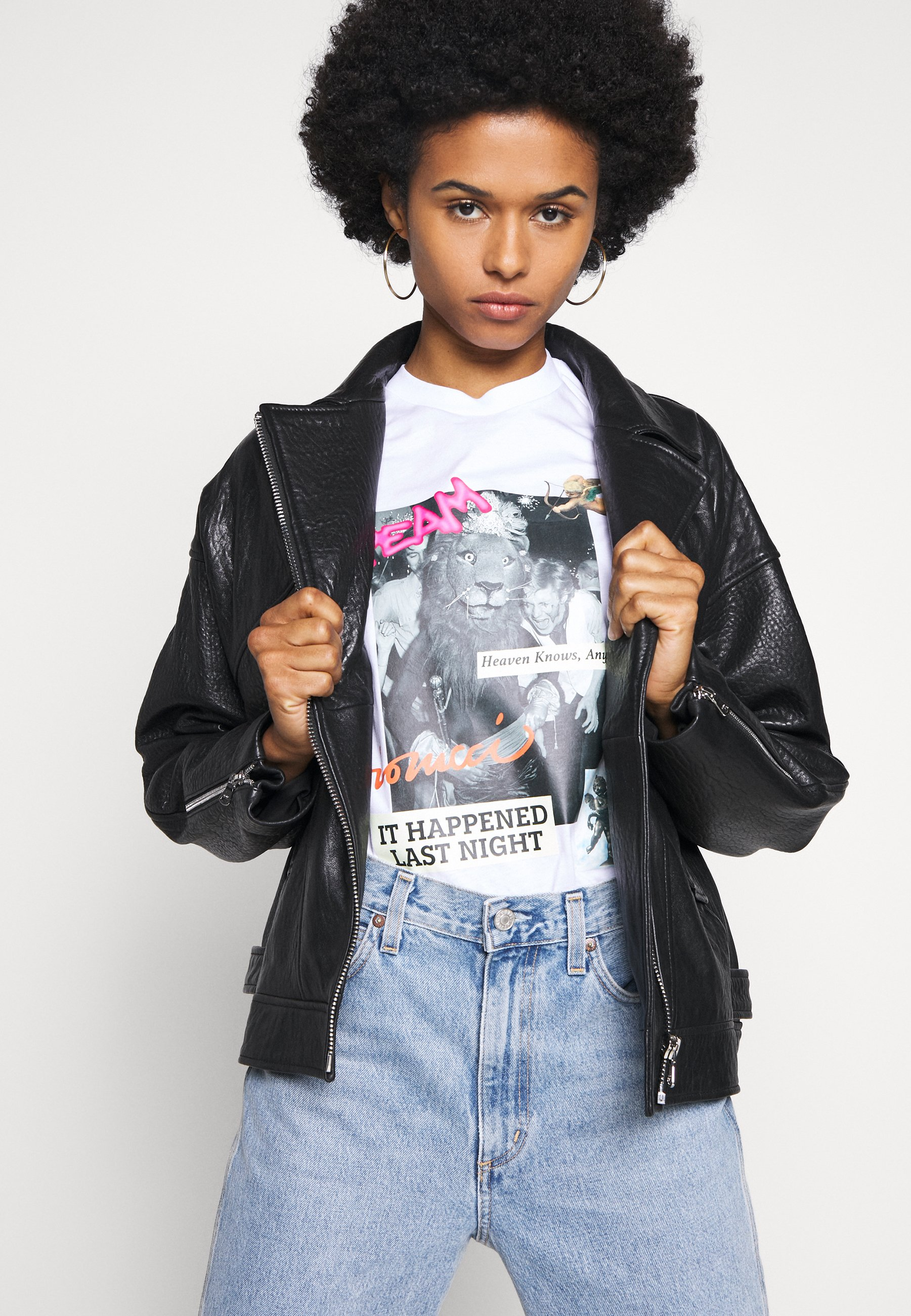 Fiorucci Heaven Goes - T-shirts Med Print White/hvit