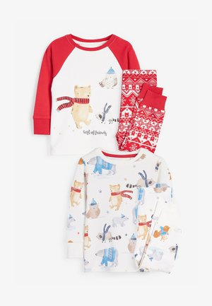 2 PACK - Pyjama set - red