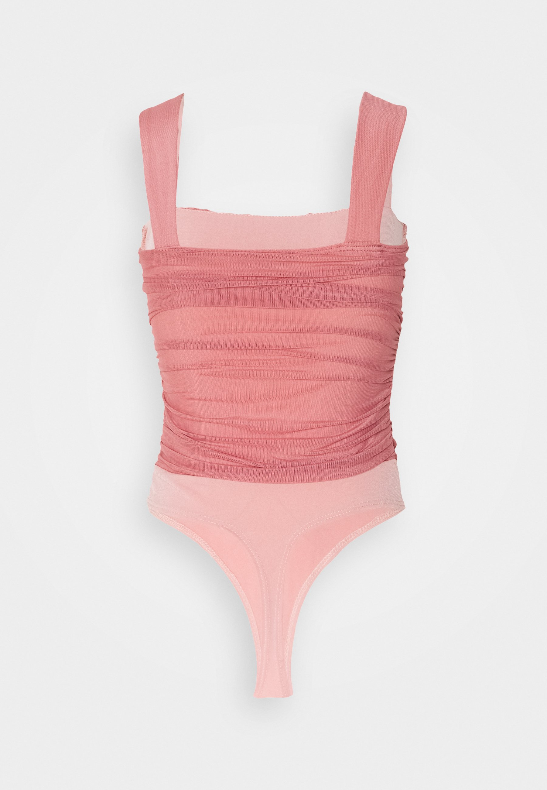 Nly By Nelly Shaped Bust Body - Topper Rose/lyserosa