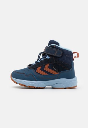 ZAP HIKE JR - Lace-up ankle boots - black iris