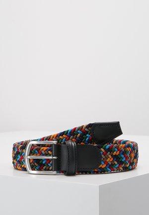 STRECH BELT UNISEX - Gevlochten riem - multicolor