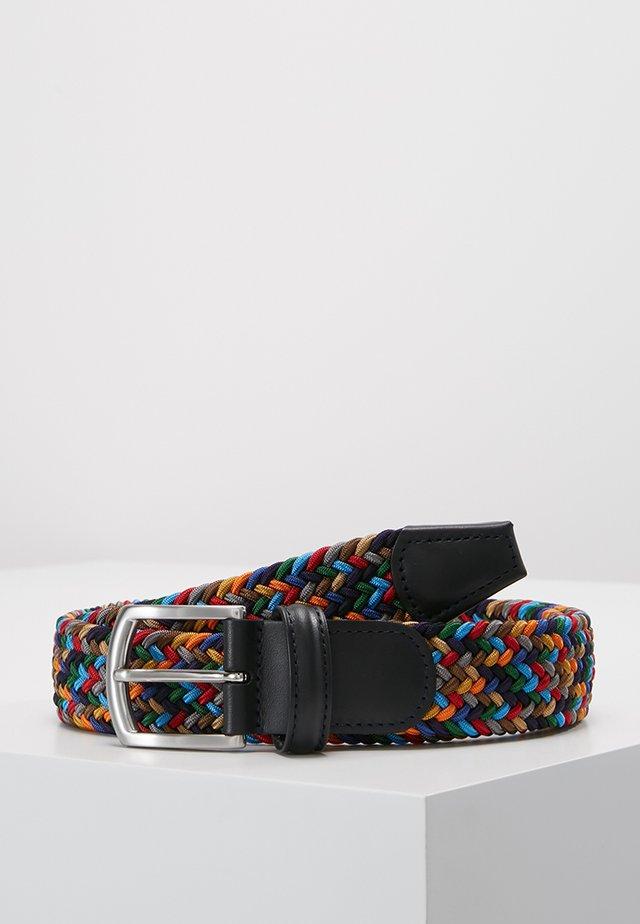 STRECH BELT UNISEX - Palmikkovyö - multicolor