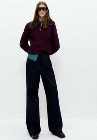 Uterqüe - Bootcut jeans - blue - 1