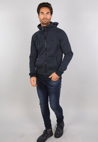 Gabbiano - Zip-up sweatshirt - navy - 1