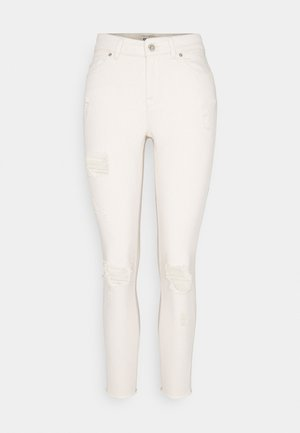 ONLBLUSH LIFE - Jeans Skinny Fit - ecru