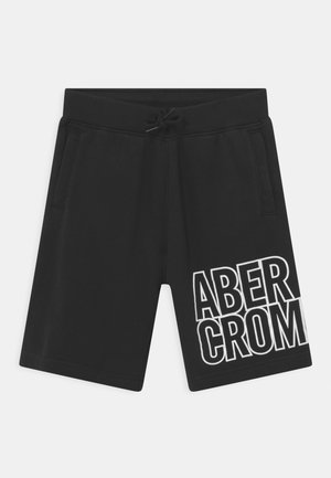 KNEE LOGO - Shorts - black