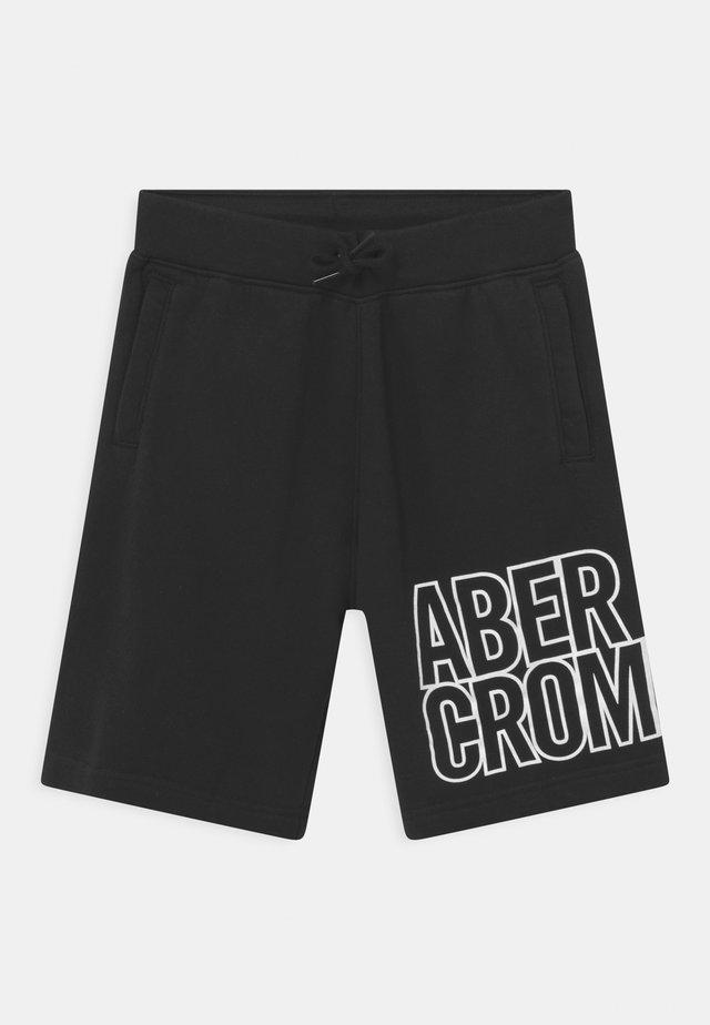 KNEE LOGO - Shorts - black