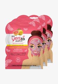 GRAPEFRUIT BUBBLING PAPER MASK 3 PACK - Face mask - -