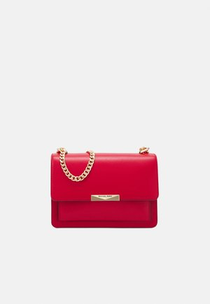 JADELG GUSSET - Borsa a tracolla - bright red