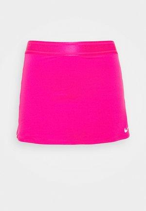 DRY SKIRT - Sports skirt - vivid pink/white/white