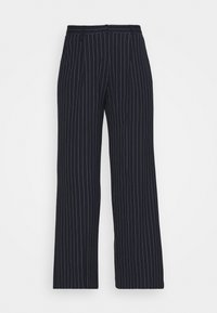 POSEY PIN STRIP WIDE PANTS - Trousers - total eclipse