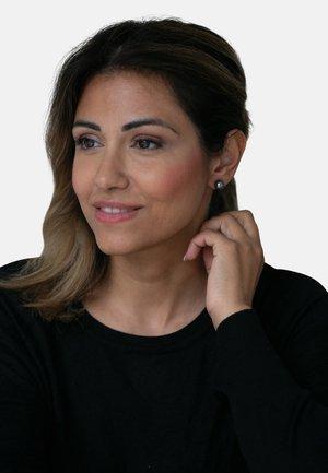 MIT PERLE - Earrings - dark grey