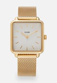 Cluse - LA TETRAGONE - Watch - gold-coloured/white - 0