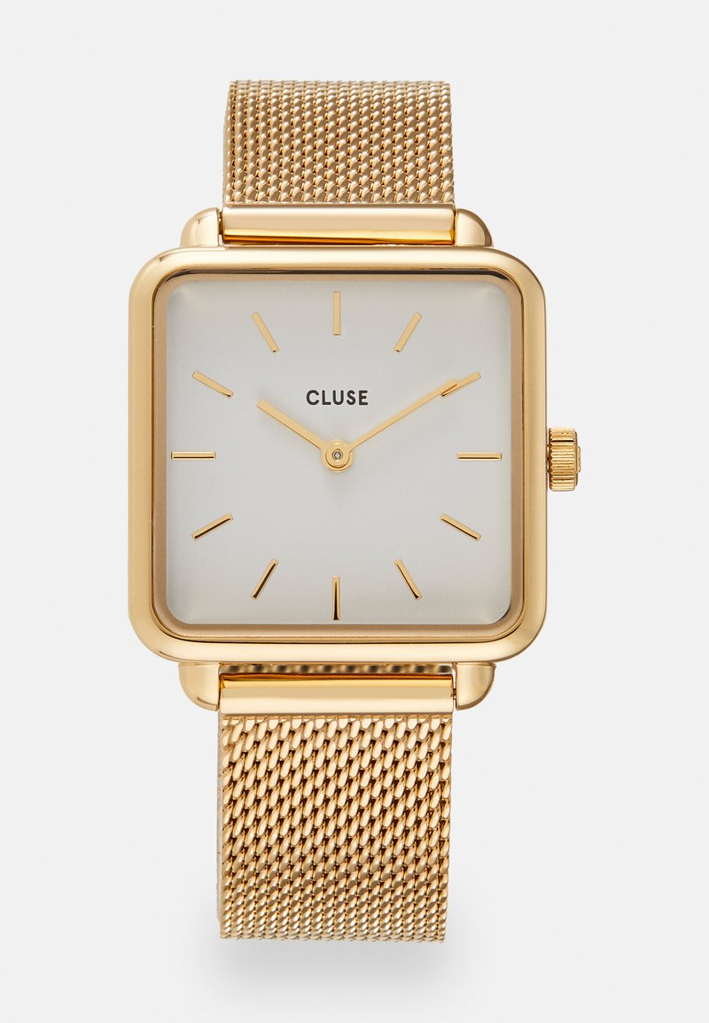 Cluse - LA TETRAGONE - Klokke - gold-coloured/white