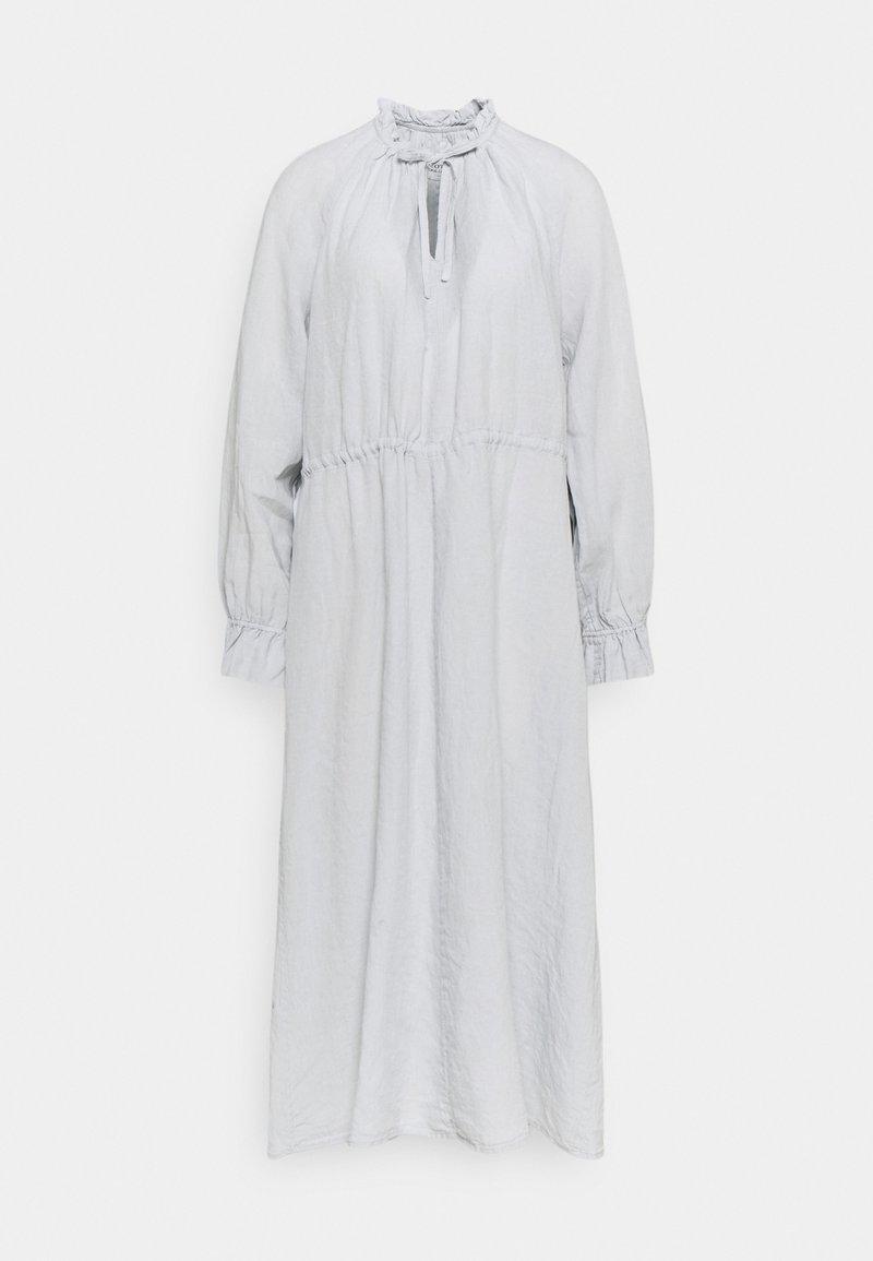 Marc O'Polo - DRESS BOHEMIAN SUMMER STYLE WIDE SLEEVE RUFFLED COLLAR - Day dress - spring water