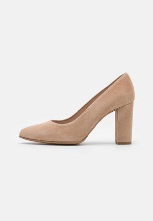 BIBI - Classic heels - cen camel
