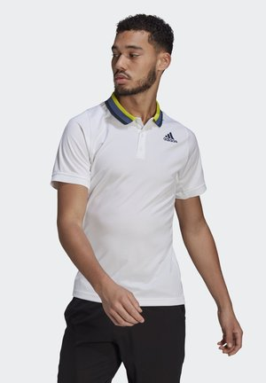FLFT POLO PB HR - Funktionströja - white/crenav