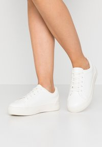 Even&Odd Wide Fit - WIDE FIT - Sneakers basse - white - 0
