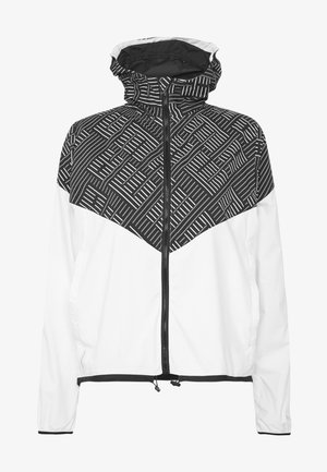 LAST LAP HOODED JACKET - Sports jacket - white/black