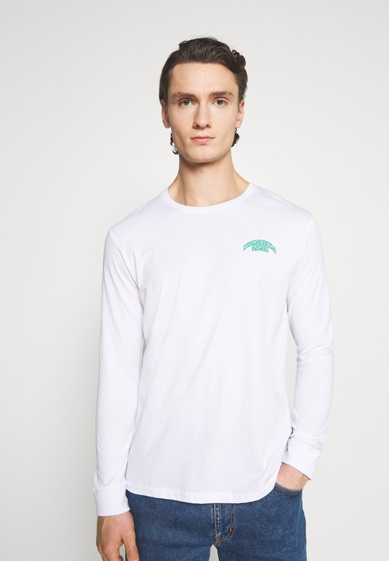 YOURTURN - UNISEX - Long sleeved top - white